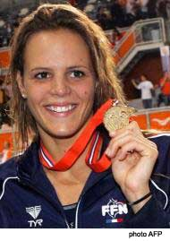 Laure Manaudou en Or