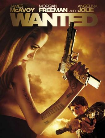 Wanted Affiche Angelina Jolie