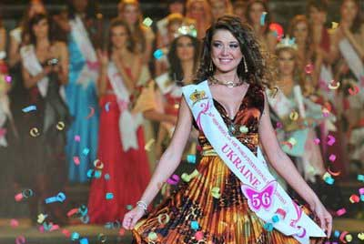 Mariia Lakimuk est élue Miss World Model 2008